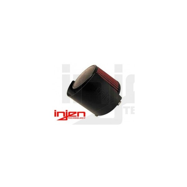 Injen Universal Aluminium air filter heat shield ( black )