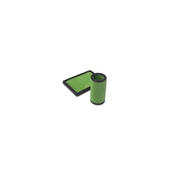 GREEN luchtfilter Landrover 90/110 series 2.5 D