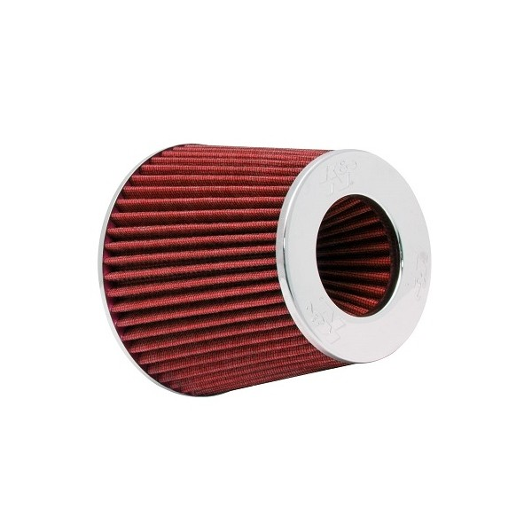 K&N RG-1001RD-L Universele Luchtfilter Cone Rood